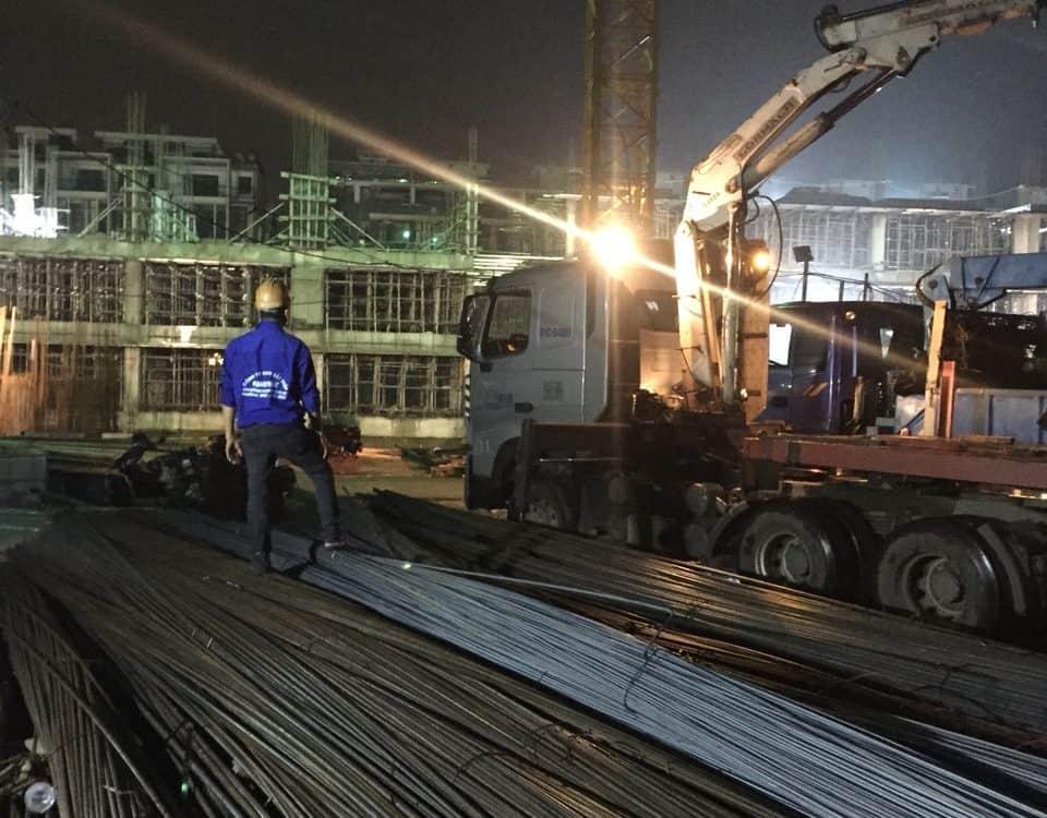 phân phối sắt thép xây dựng tại khu dận cư vạn phúc