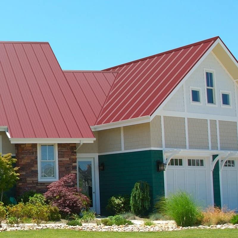 mái nhà sử dụng tôn việt nhật